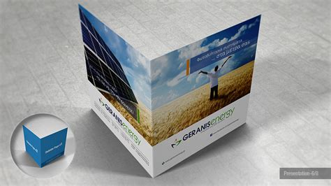 Bi Fold Paper - square bi fold brochure mock up giorgio voulioti