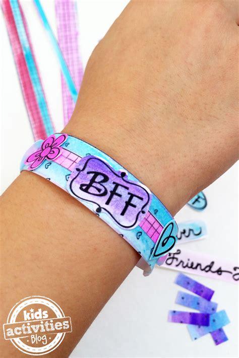 color   bff bracelets printable