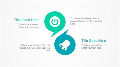 Simple Presentation Layout With Bubbles Slidemodel Simple Powerpoint Templates Free