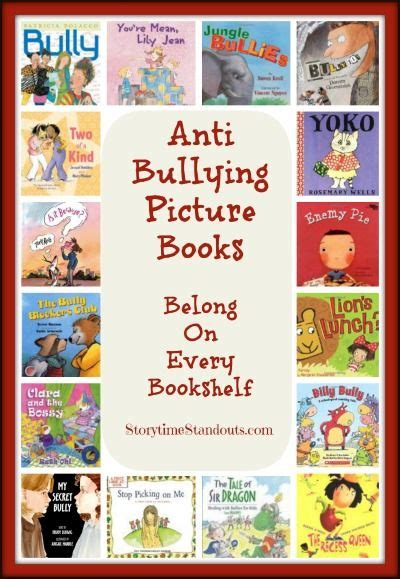 picture books about bullying storytime standouts shares an outstanding selection of