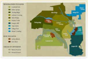 map of the woodlands woodlands real estate woodlands real estate homes