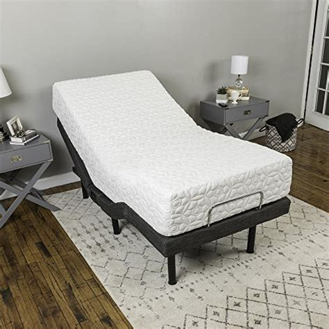 classic brands adjustable comfort adjustable bed base with wireless remote and usb