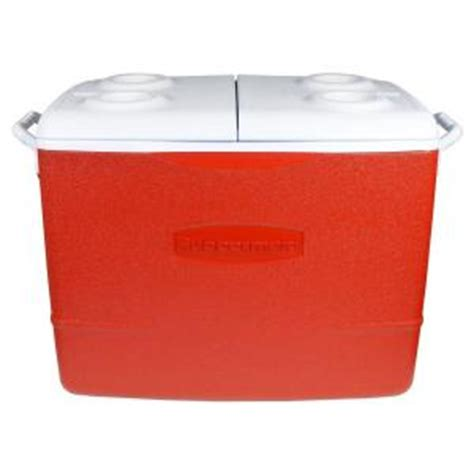 rubbermaid 50 qt insulated modern cooler 1929015