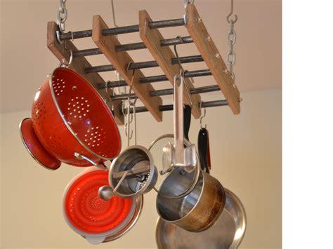 Pot Rack Ideas To Complete The Kitchen Amazing Home Decor | wooden pot rack ideas amazing home decor pot rack ideas