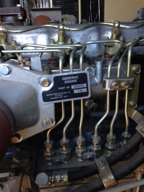 200kw generac used diesel generator
