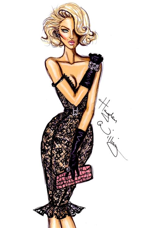 fashion illustration hayden william fashion illustration newgirllook