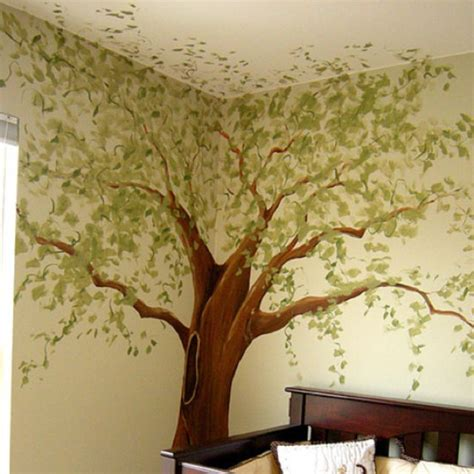 tree of wall mural this mural idea wall designs