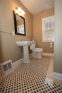 Craftsman Style Bathroom Ideas north california avenue bungalow bathroom remodel