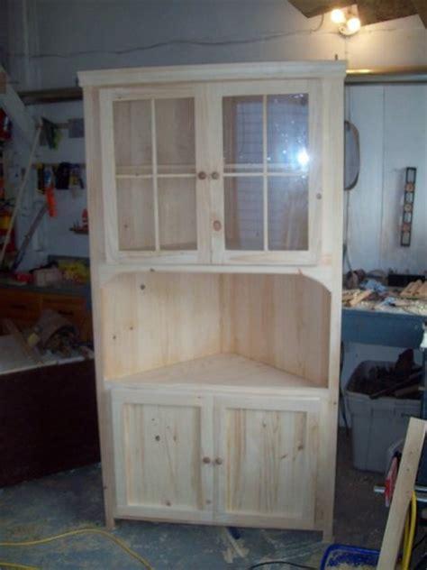 pine corner hutch  dalehurst  lumberjockscom