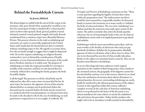 behind the formaldehyde curtain from behind the formaldehyde curtain integralbook com