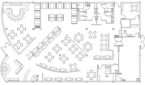 fine dining restaurant floor plan autocad drawings by christin menendez at coroflot
