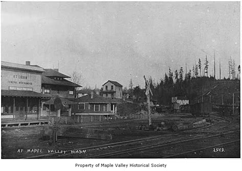 Maple Valley Post Office by The U S Postal Service Where History And Today Collide