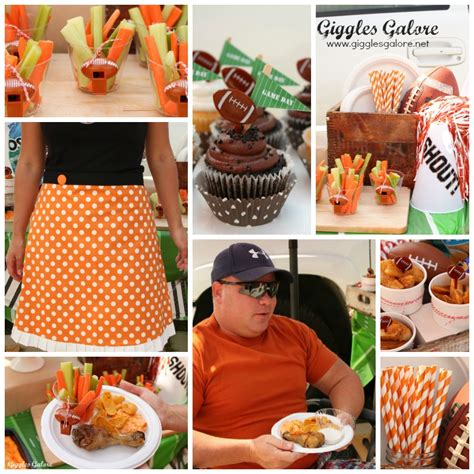 Tailgate Giveaway Ideas - football tailgate party with chinet giveaway giggles galore