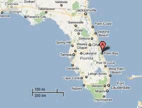 map of indialantic florida sighting reports 2011