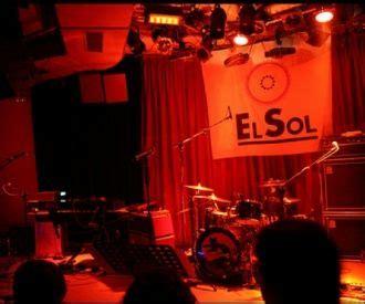 sala el sol conciertos sala el sol madrid programaci 243 n y venta de entradas