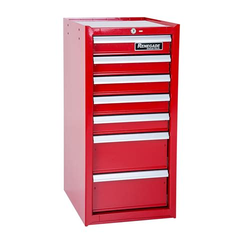Tools Cabinet w15 7x renegade industrial 7 drawer side cabinet for roll cabinets tool chests roll cabinets