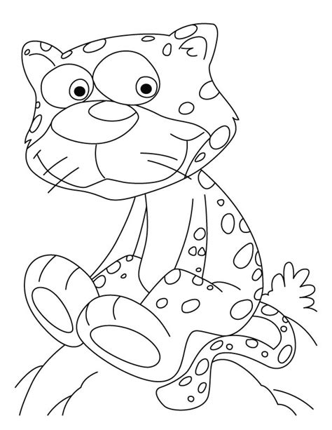 cute cheetah coloring page baby cheetah pictures az coloring pages
