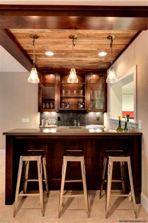 Wallpaper For Kitchen Backsplash by Home Wine Bar Design Ideas Wallpapers Area