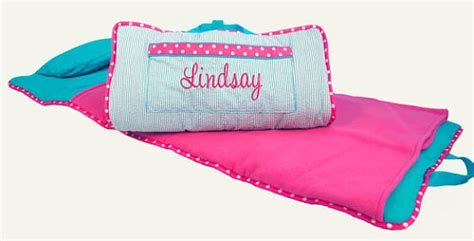 Toddler Mats by Toddler Nap Mat Personalized Aqua Pink Daycare Preschool