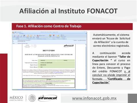 afiliacion de la empresa o centro de trabajo al infonacot afiliacion de la empresa o centro de trabajo al infonacot