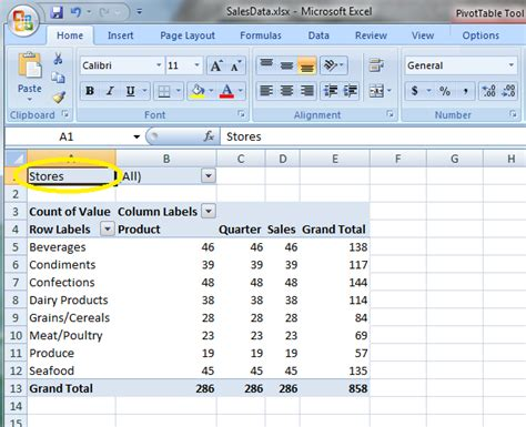 how to create pivot table from sheets in excel