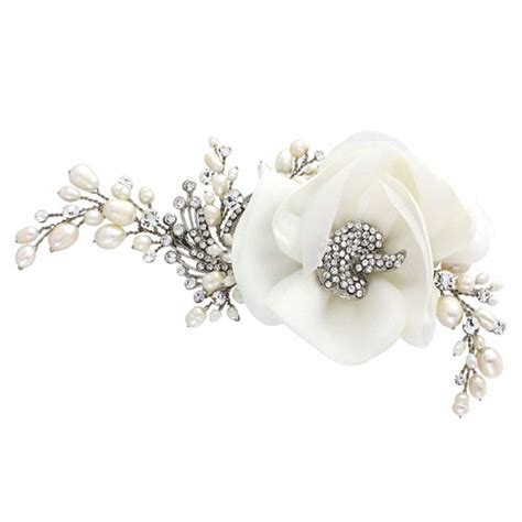 vintage wedding hair flowers uk vintage flower hair accessory mara zaphira bridal