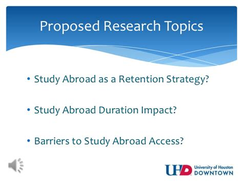 dissertation topics for early childhood studies study abroad research a dissertation topic