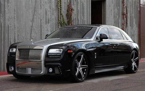 roll royce forgiato wald rolls royce ghost on forgiato wheels