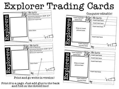 trading cards template blank trading card images