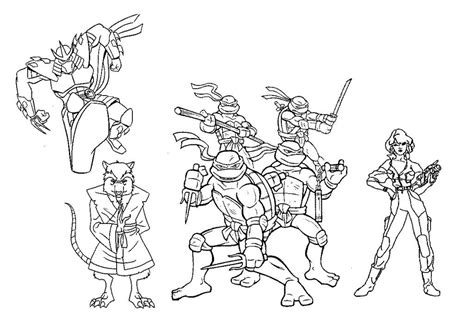 ninja turtle coloring pages coloring home