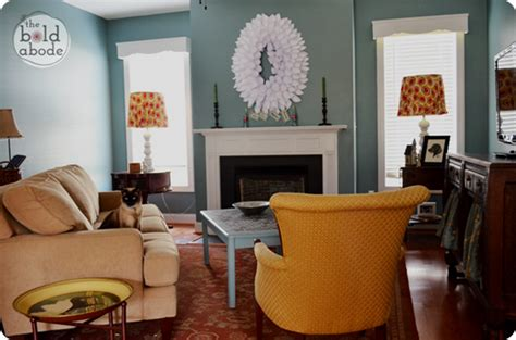 family room color ideas april before and after from thrifty decor
