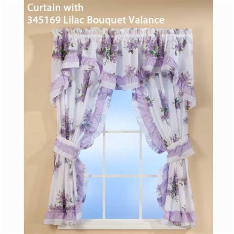 lilac floral curtains lilac ruffle curtains floral curtains lilac curtains