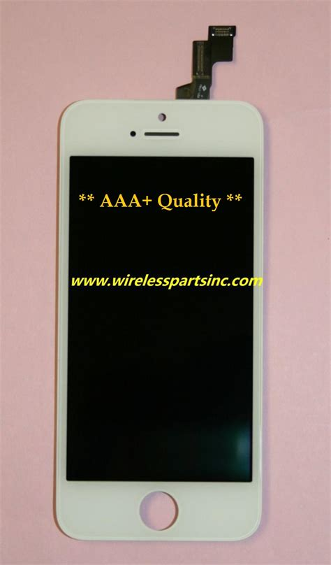 Lcd Zte N986 aaa quality iphone 5c display screen lcd touch screen digitizer assembly white color
