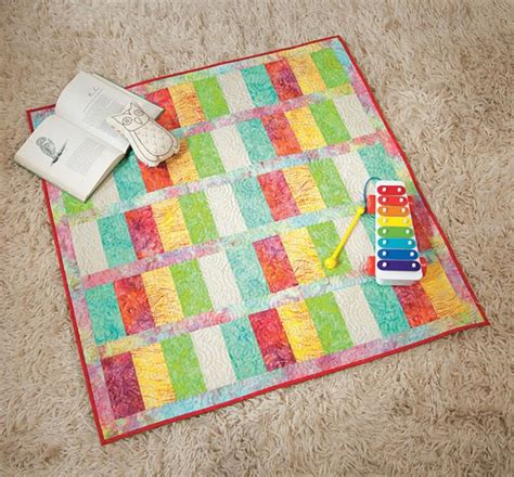 Easy Baby Quilt Kits easy quilt kit simple and sweet pastel batik baby quilt 40 quot square auntie chris quilt fabric