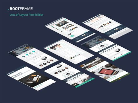wordpress mockup layout bootframe responsive multi purpose wordpress theme