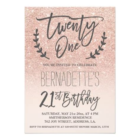 Birthday Invitation Templates 21st Birthday Invitations Easytygermke Com Invitation Templates 21st Birthday Template