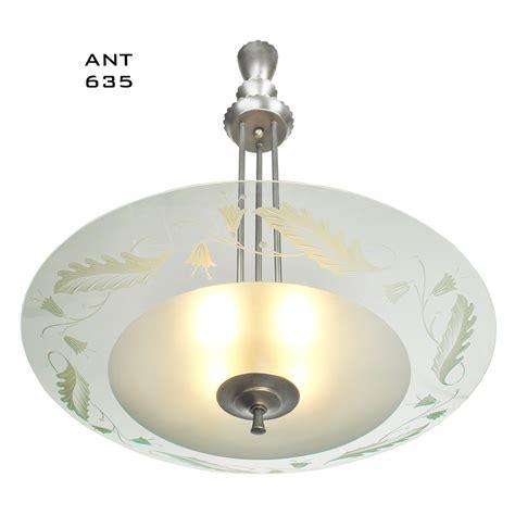 Lighting Fixtures For Sale Midcentury Modern Vintage Chandelier Lens Bowl Ceiling Light Fixture Ant 635 For Sale