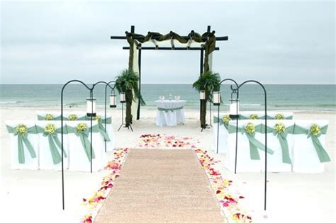 Beach Wedding Ceremony Decorations