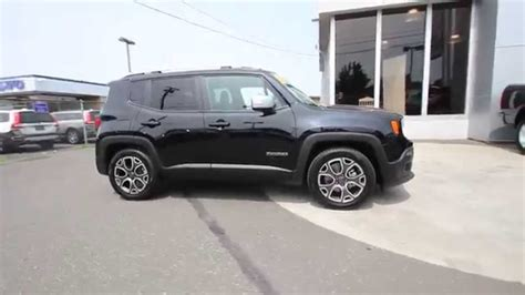 black jeep renegade 2015 jeep renegade limited black fpb43939 mt vernon