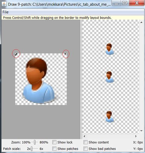 Drawing 9 Patch by Android Nine Patch Drawable Exle