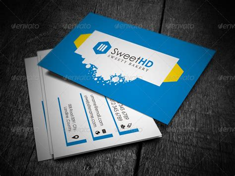 business card template margins margin business card by axnorpix graphicriver