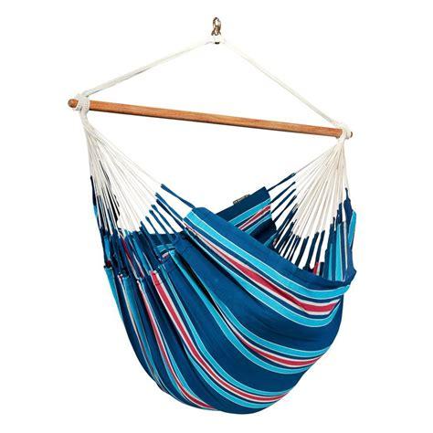 lowes hammock swing shop la siesta currambera blueberry fabric hammock chair
