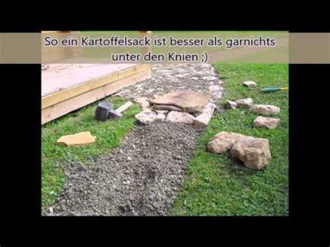 Pflastersteine Selber Herstellen by Teil 1 Der Gartenweg Pflastern Selbst Gemacht Pfla
