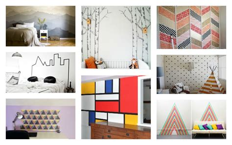 wall murals diy impressive diy wall murals for the plain walls in your home