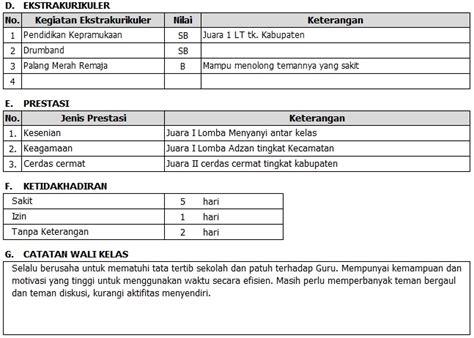 format buku raport sd ktsp aplikasi raport dan nilai kurikulum 2013 raport k13
