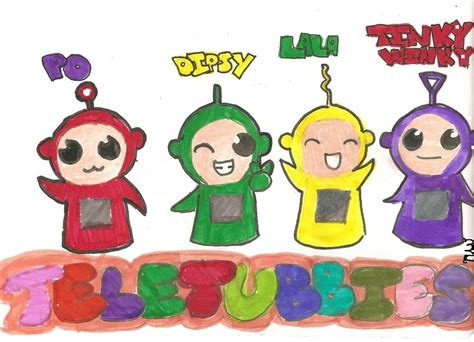 teletubbies names and colors teletubbies by coolio chipmunk