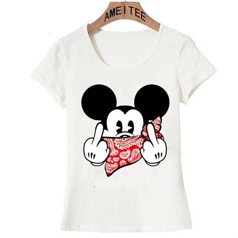 new year shirt 2018 2018 new harajuku gangster mickey design t