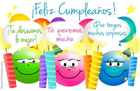 imagenes feliz cumpleaños vecina tarjeta de cumplea 241 os con emoticones feliz cumplea 241 os