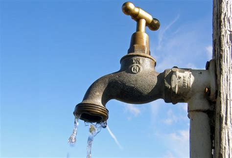 Di Faucet Pcci Urges Companies To Conserve Water As Climate Changes