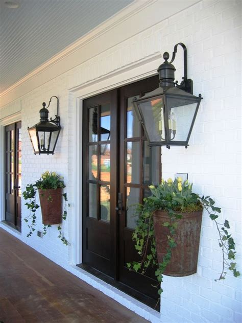 black farmhouse outdoor light farmhouse chic eclectic entry charlotte by austin